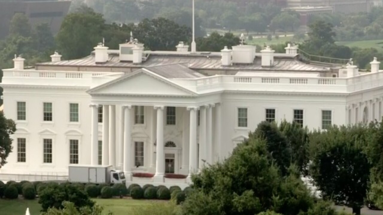 WH flag returns to full staff