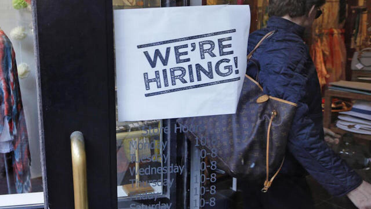 Fewer Americans applied for jobless benefits