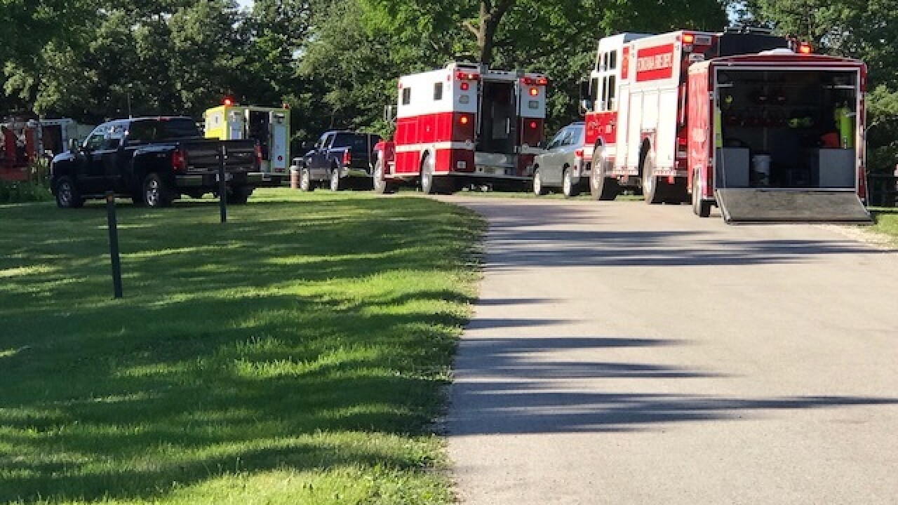 Dive team searches for teen in Walworth County