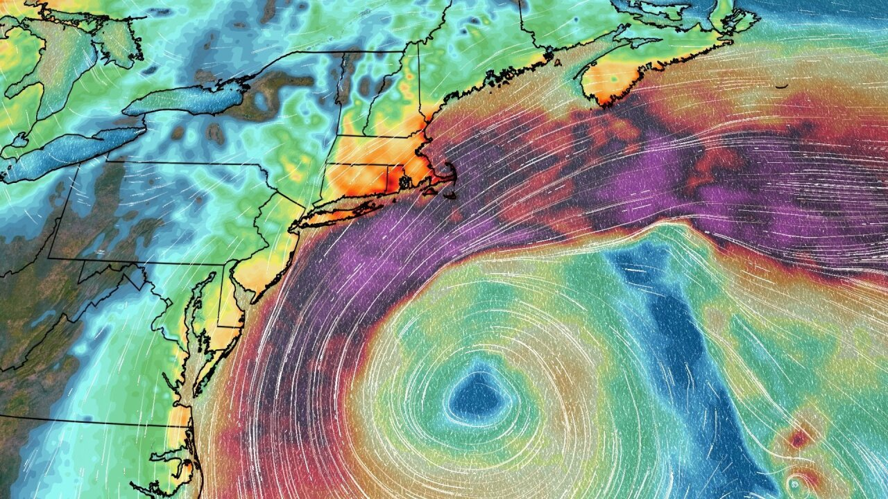 Fall nor'easter could bring heavy winds, rain and flooding thisweekend