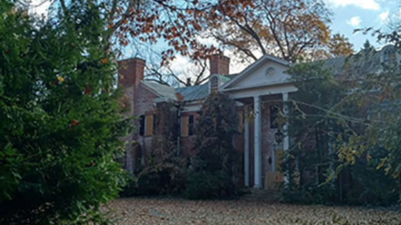 Fire at old Firestone mansion in Fairlawn
