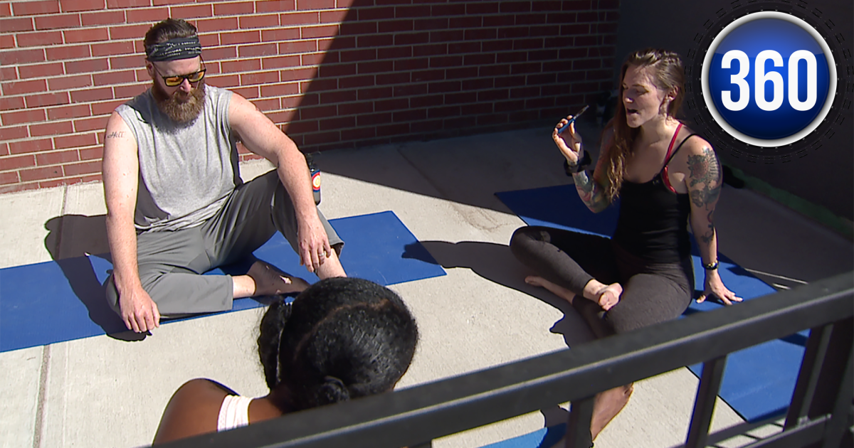 Inhale And Exhale Coloradans Experimenting With Social Marijuana Yoga Studios