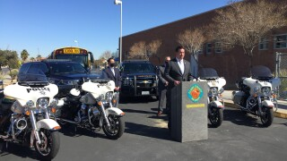 Local leaders urge drivers to slow down to save lives ahead of Monday, when many of CCSD's youngest student will return to school buildings