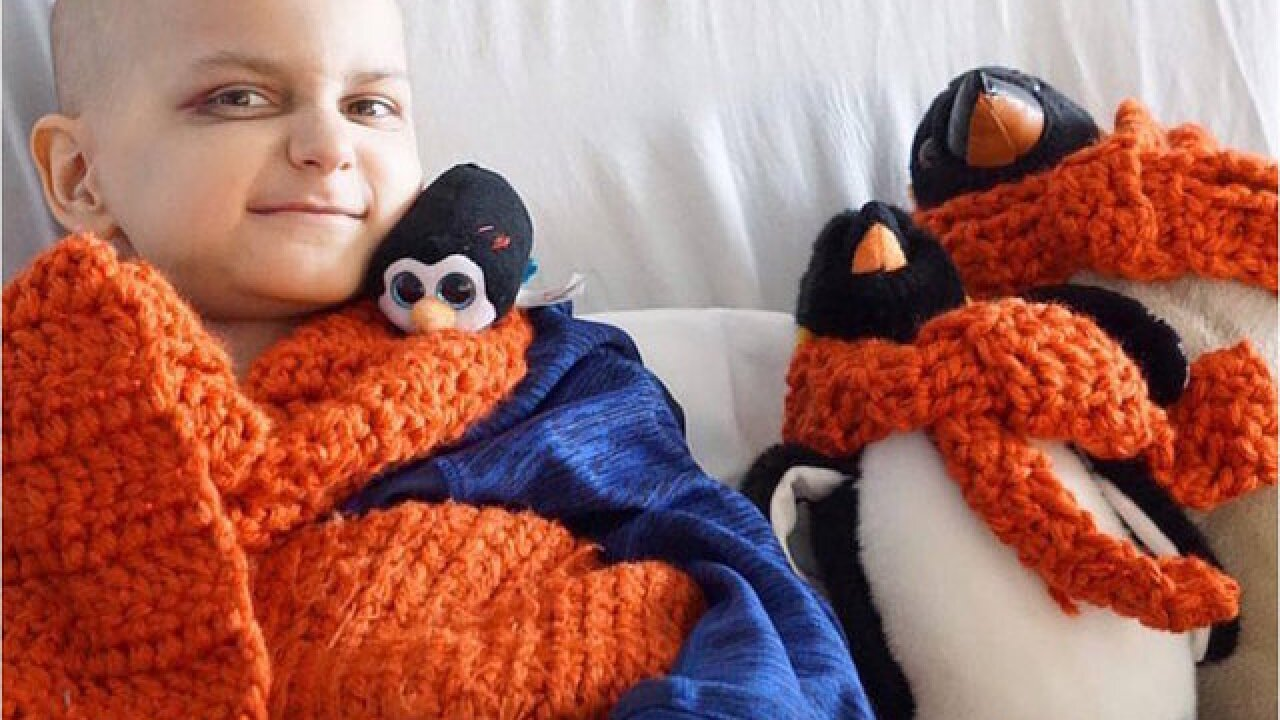 9-year-old cancer patient wants cards for his last Christmas