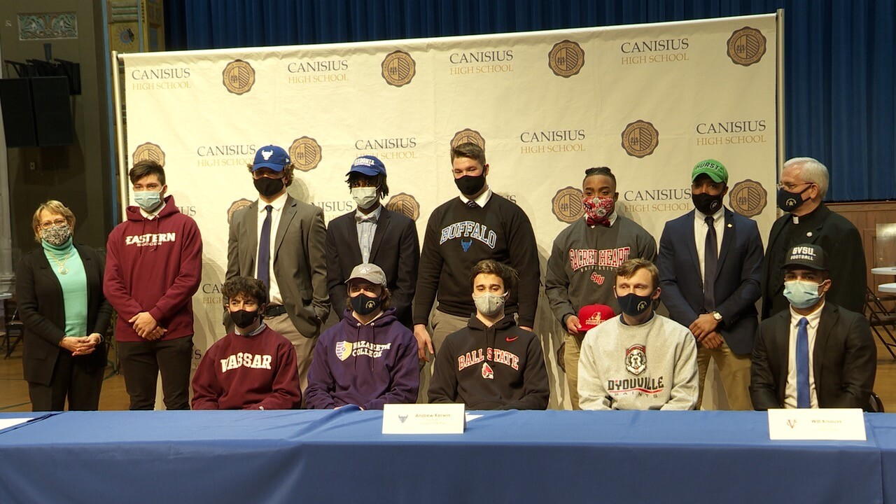Canisius HS National Signing Day