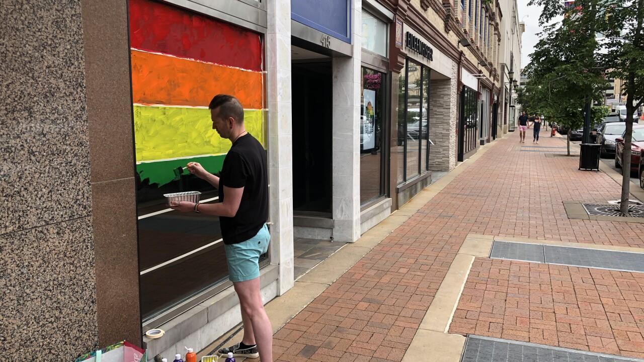 Plaza Pride Mural