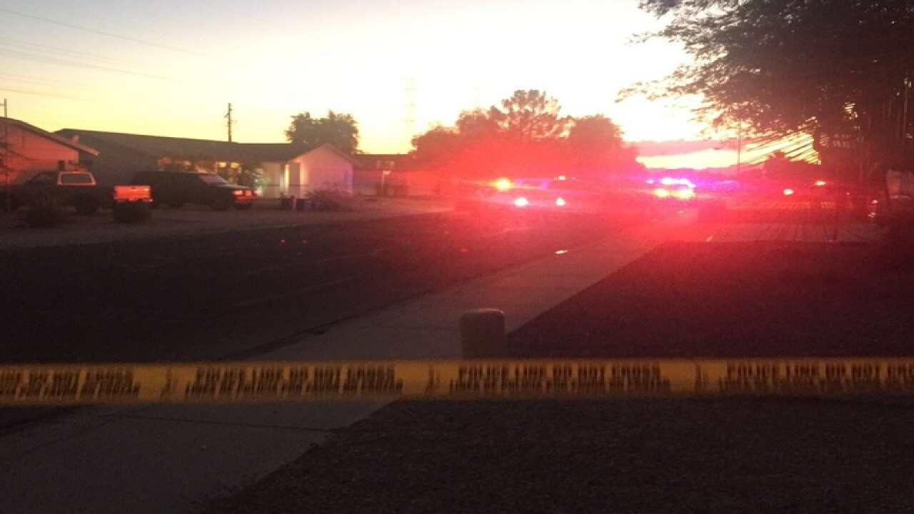 Peoria PD investigating shooting that injured 1