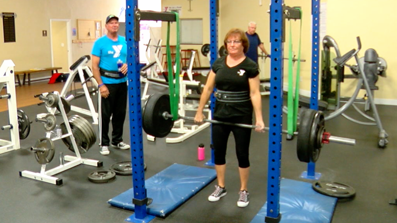 powerlifting Judy Reed Davey Reed