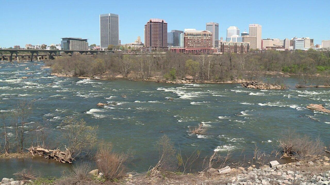 Woman dies, man injured in James River 'drowningmachine'