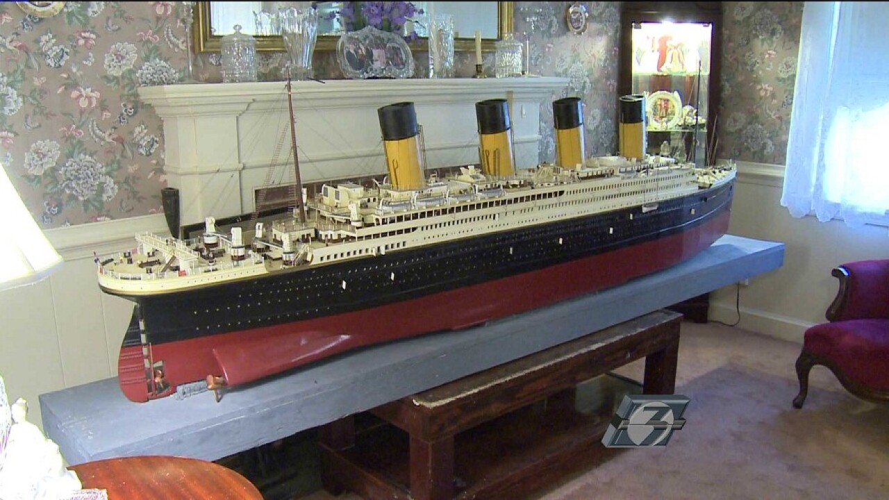 Portsmouth man says 'Titanic' replica could be haunted