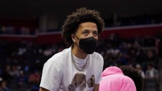 Cade Cunningham Spurs Pistons Basketball