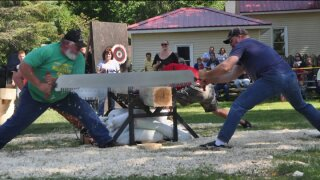 Embrace your inner lumber jack at the Newaygo LoggingFestival