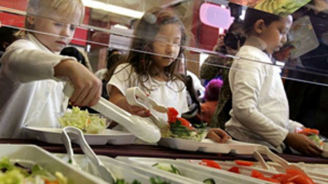 REACT: Congress restricting free school lunches?