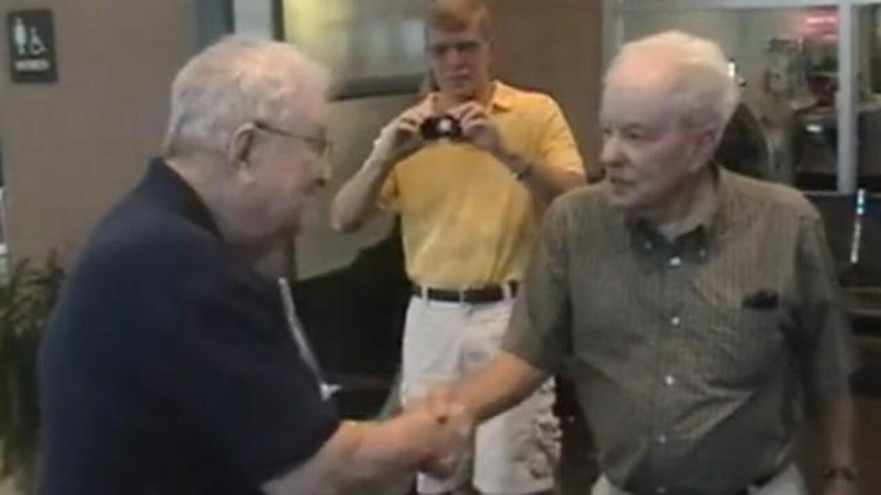 Brothers reunited after 80 years of separation
