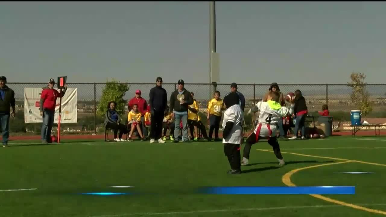Special Olympics Flag Football at CSU Pueblo