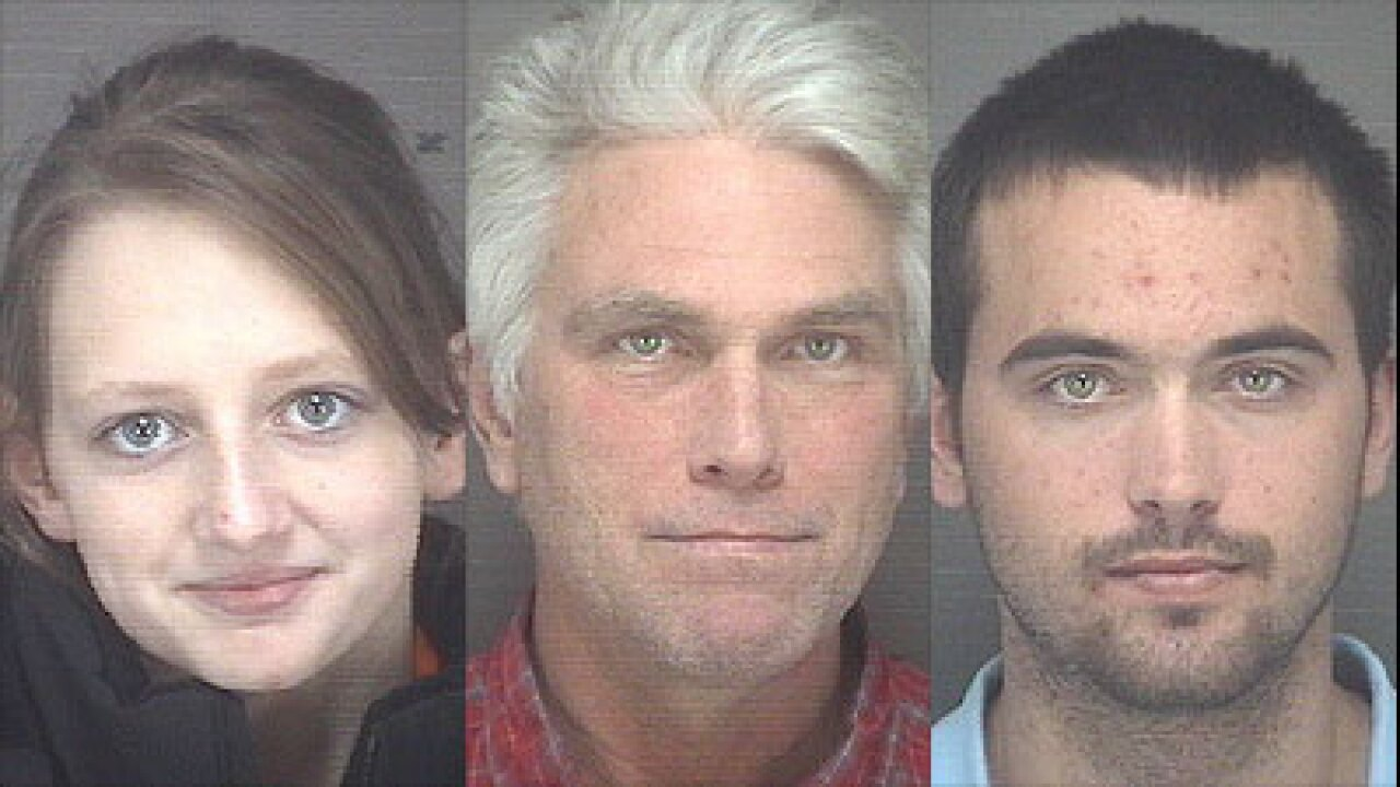 Father and son among three arrested in Kitty Hawk drug investigation