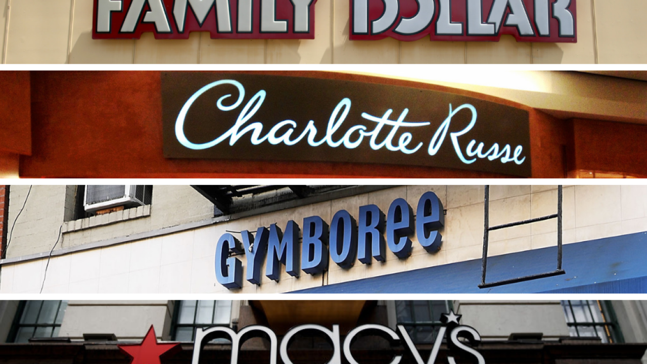 At least 10 chain stores have announced closures in 2019