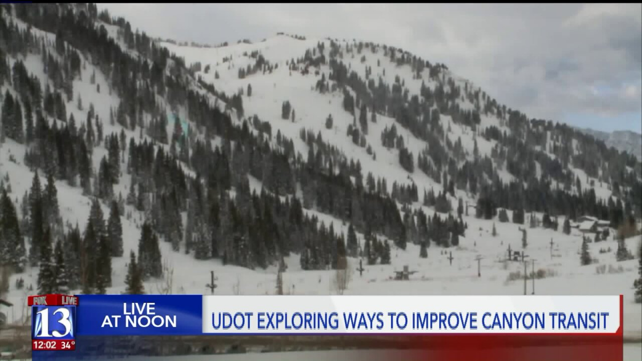 UDOT feasibility study looks at aerial transit options for Little CottonwoodCanyon