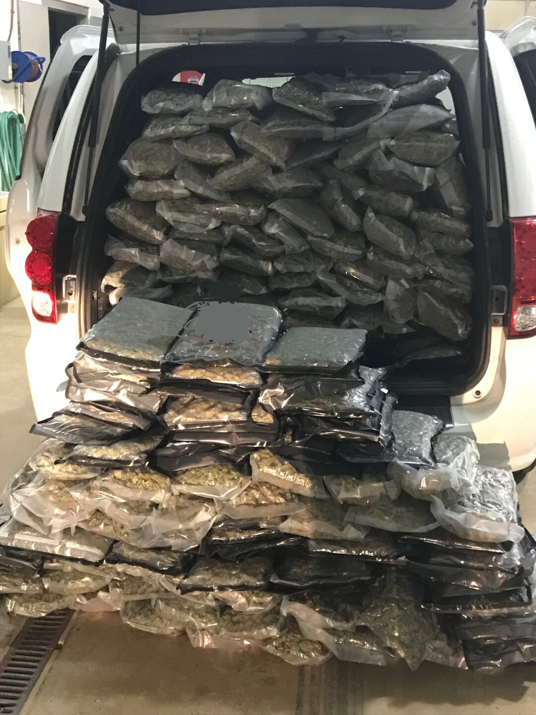Photos: Photos: UHP seizes 446 lbs. of pot, 25 pounds of meth in I-80project