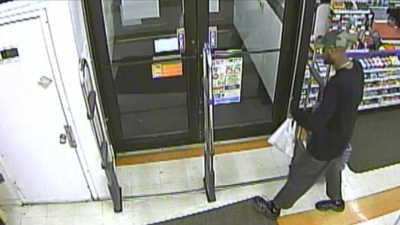Scruffy-bearded gunman robs Chesterfield business