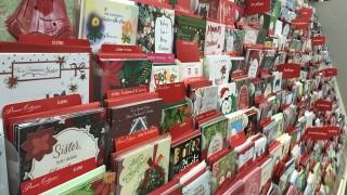Sav-Half card shop aisle