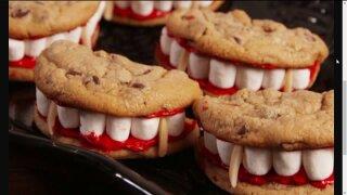 Vampire teeth cookiesrecipe