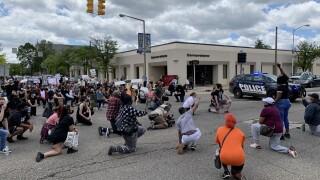Black Lives Matter protest in Kalamazoo