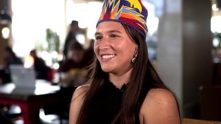 Maleeya Knowshisgun, from the Northern Cheyenne reservation