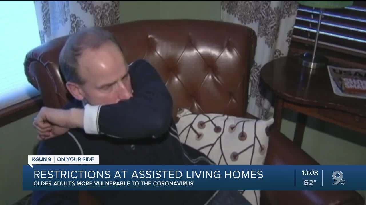 Restrictions being taken at assisted living facilities