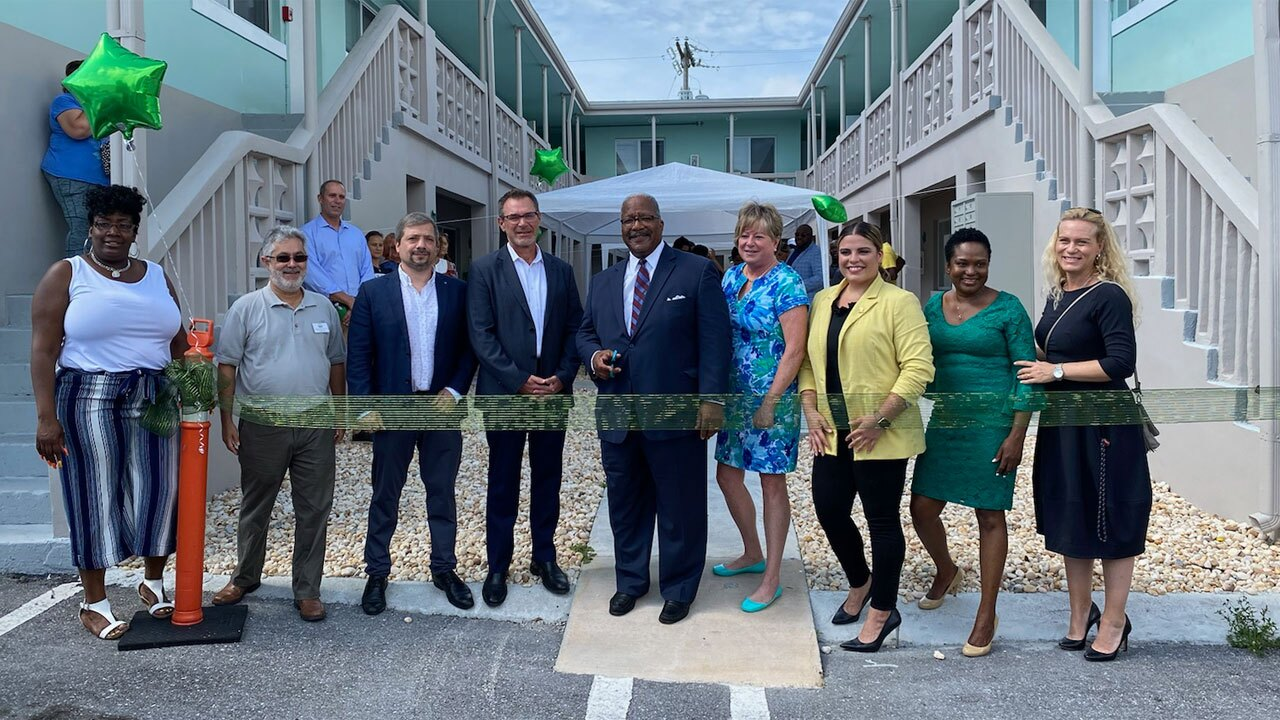 The Village ribbon-cutting ceremony July 9, 2021 in West Palm Beach