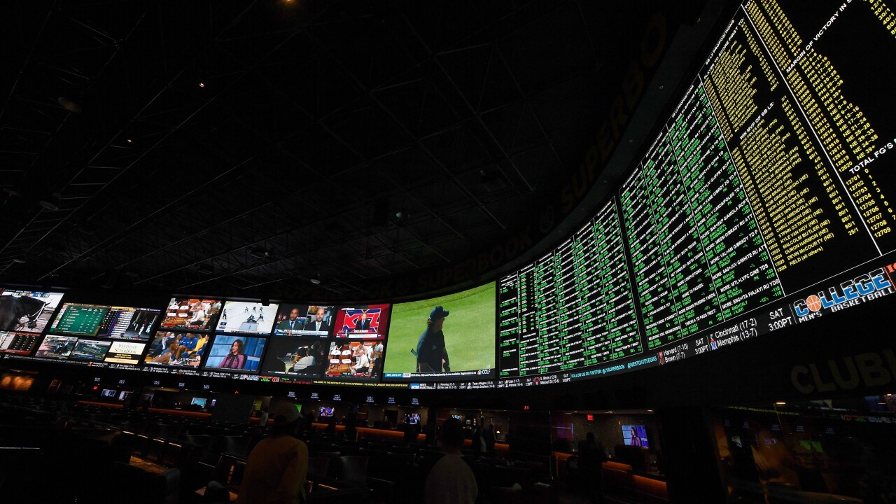 Sports betting Vegas
