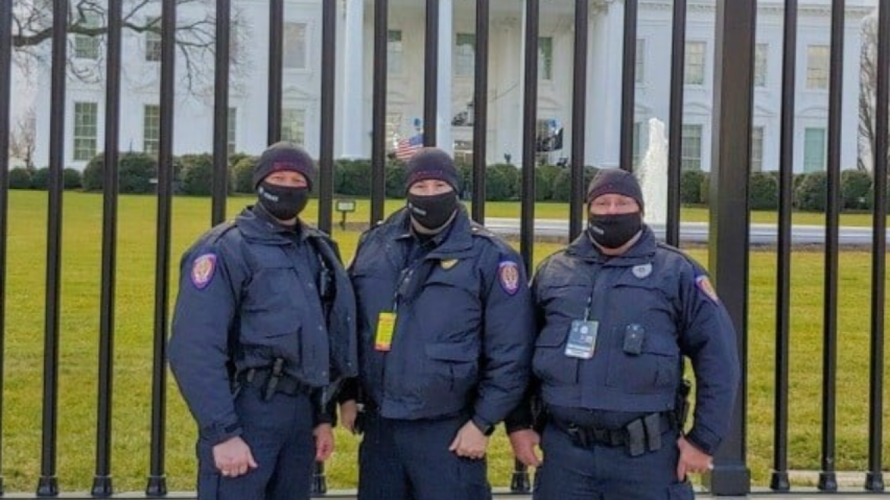 Texas A&M Police Department at White House