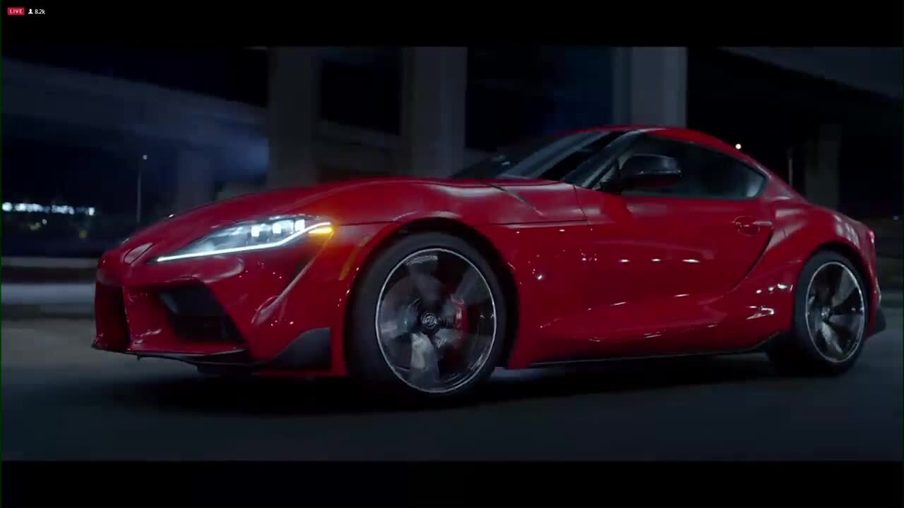 North American International Auto Show 2020.2020 Toyota Supra Makes Global Debut At North American