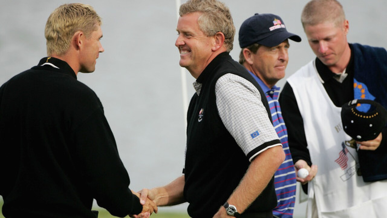Back in Michigan, Colin Montgomerie reminisces about 2004 Ryder Cup win