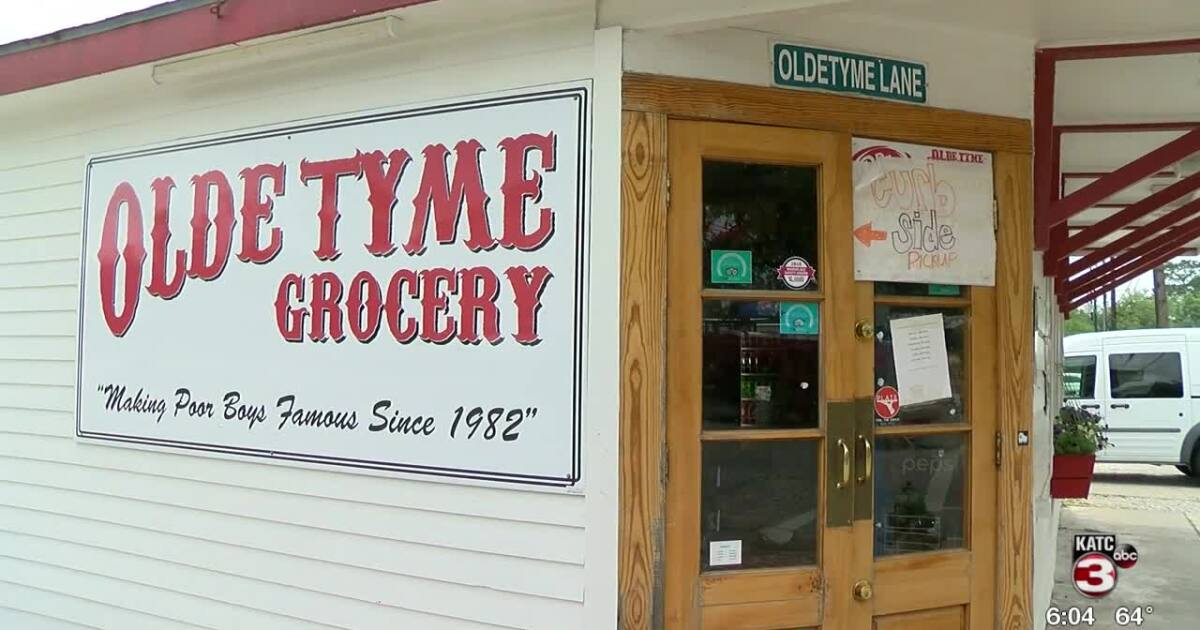 We Re Open From An Appreciative Olde Tyme Grocery