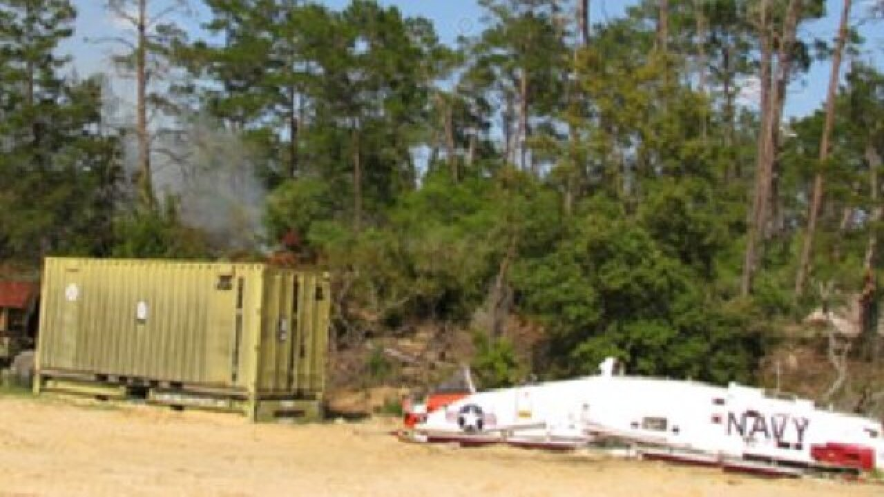 US Navy dropping live bombs in Florida's Ocala National Forest