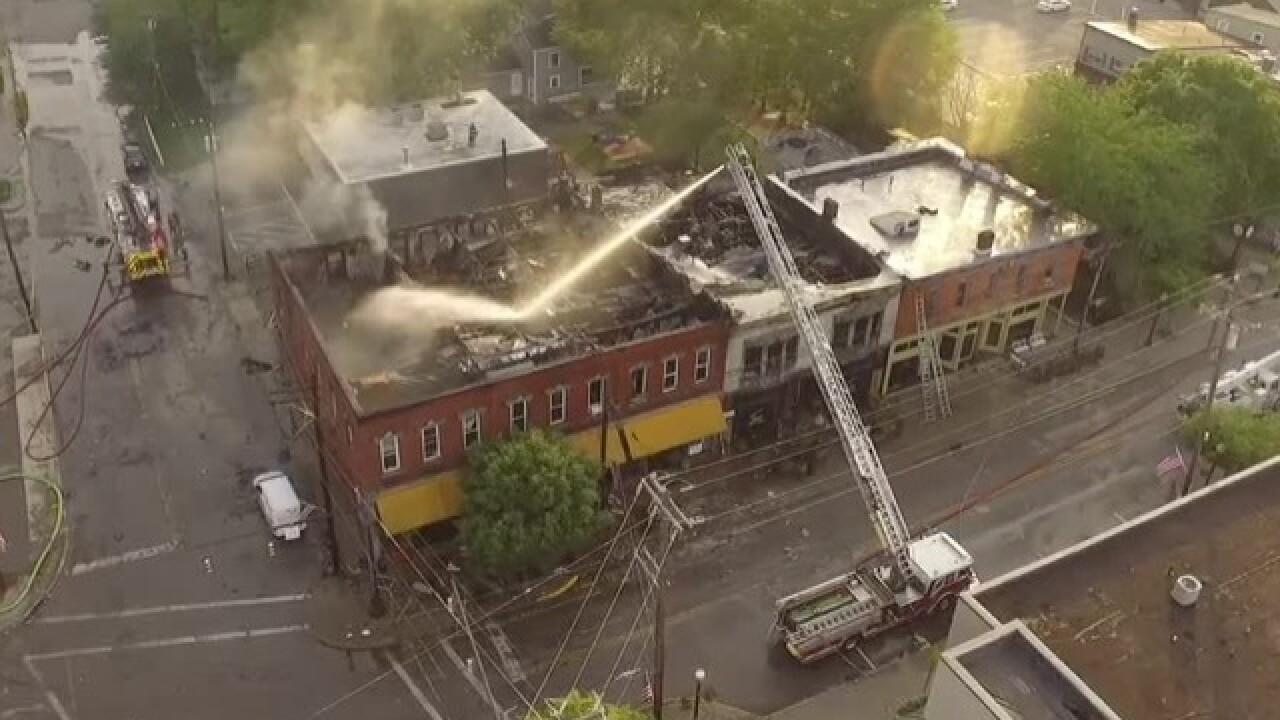 Massive fire damages historic downtown Loveland