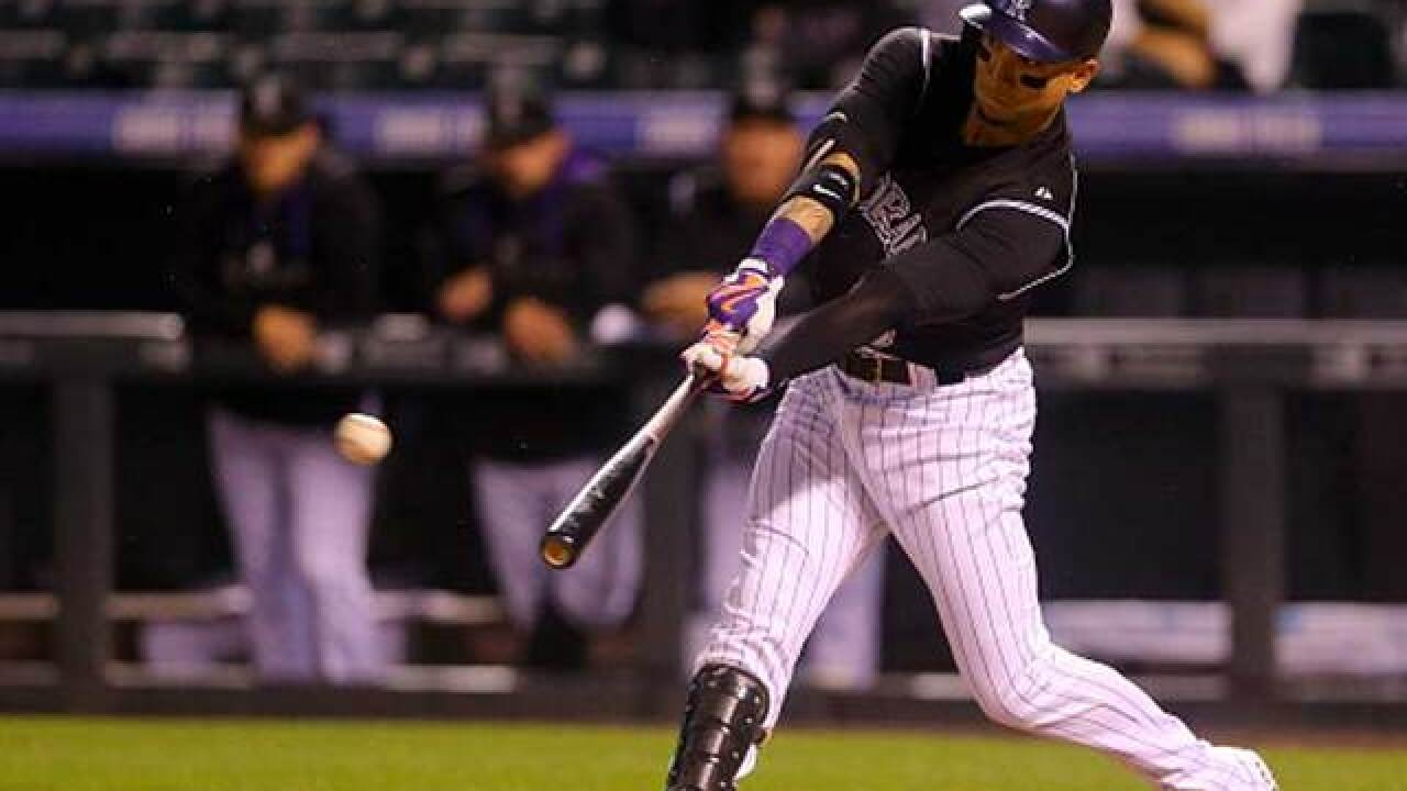Woody Paige: Why haven't the Rockies re-signed free agent Carlos Gonzalez?