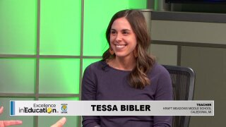 Excellence in Education – Tessa Bibler ofCaledonia