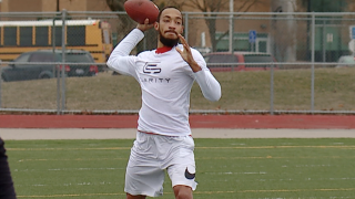 Jayru Campbell puts together tape for NFL scouts after success at Ferris State