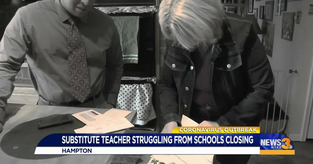 "Substitute teacher ""taken aback"" after employer's response over extended school closure"