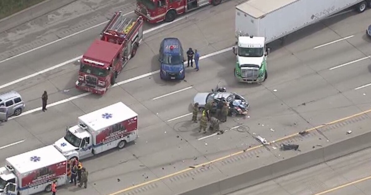 Northbound I-75 reopens at Schaefer in Detroit following