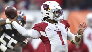 The undefeated Arizona Cardinals are trying to extend their best start since 1974 when they host the Houston Texans on Sunday.  AP photo.