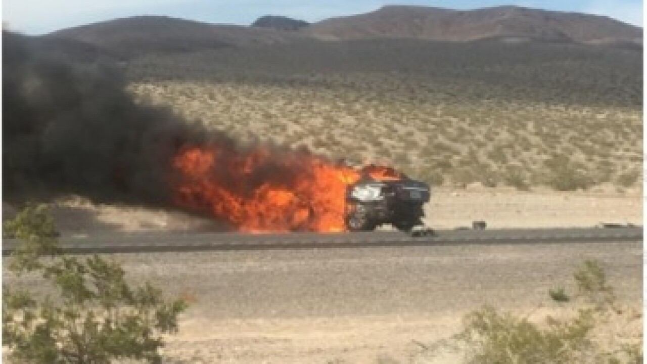 UPDATE: 4 of 5 killed in Nye County crash identified
