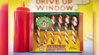Buy Ketchup-flavored Candy Canes This Holiday Season