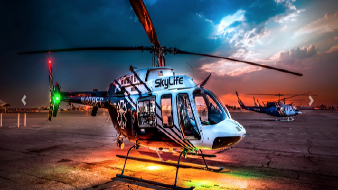 Medical chopper crashes in Kern Co., 4 killed