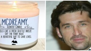 You Can Actually Buy A McDreamy-scented 'Grey's Anatomy' Candle
