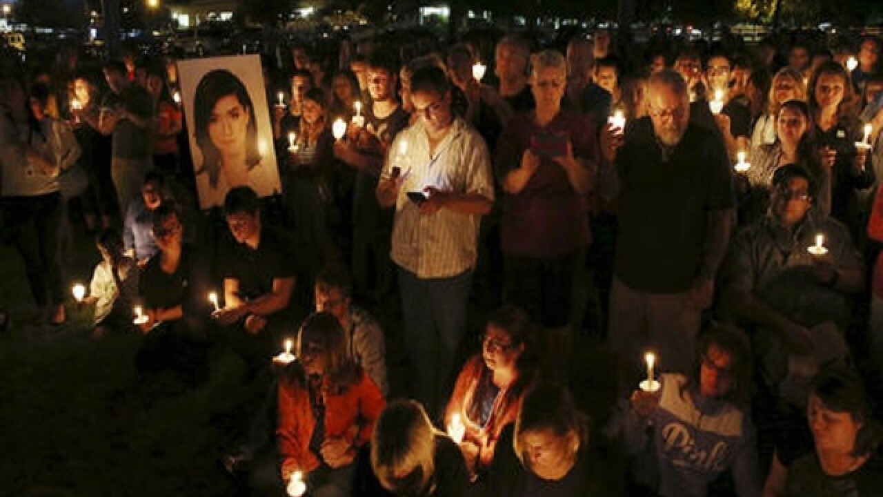 Vigil held in New Jersey hometown of slain 'Voice' singer