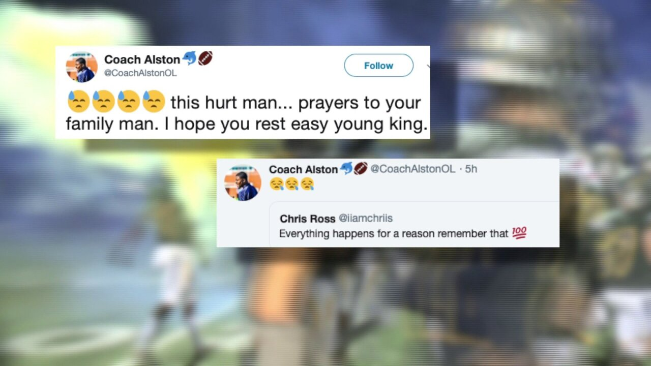 Friends remember football player killed in Virginia Beach shooting