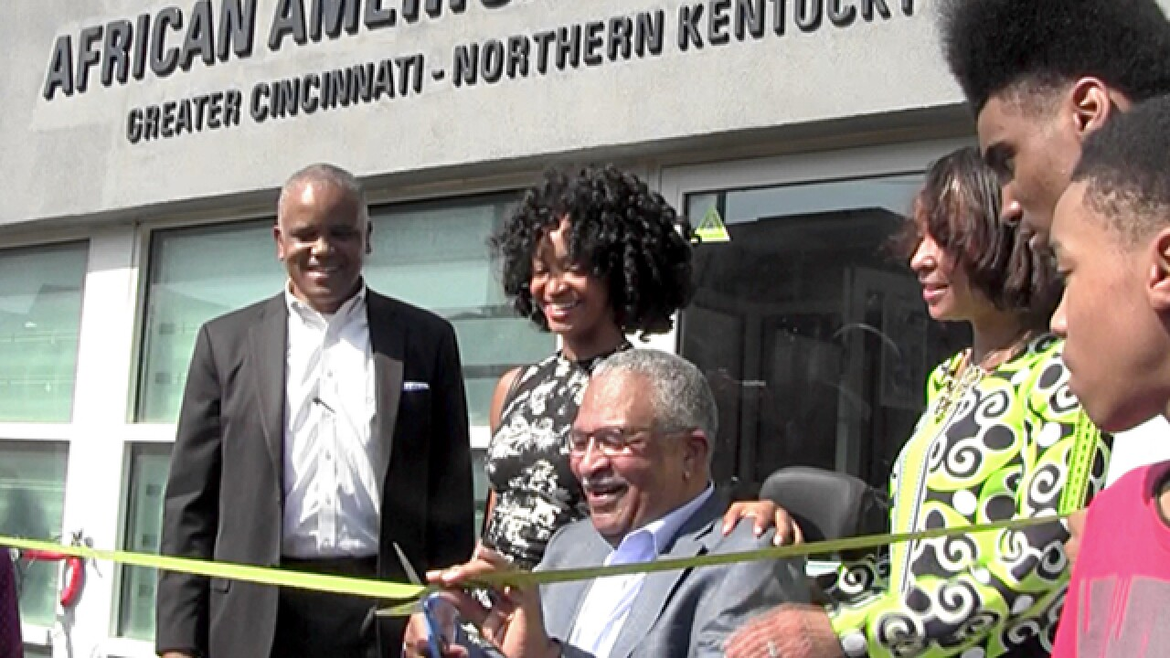 African American Chamber of Commerce honors first president at building dedication